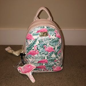 Betsey Johnson Flamingo Backpack